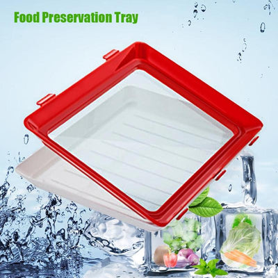 Food Preservation Tray Keep Food Fresh Container