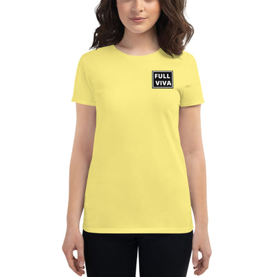 Women's short sleeve t-shirt FULL VIVA