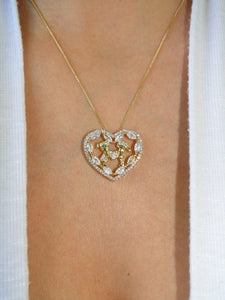 Boy & Girl Love 18K Gold Plated Necklace - Sweetas Trends
