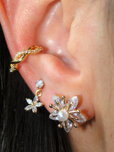 Flower Gold Piercing (1 unit) - Sweetas Trends