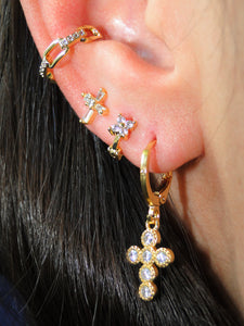 Emilia Gold Plated Ear Cuff (1 unit) - Sweetas Trends