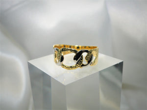 Nugget 18k Gold-plated Ring - Sweetas Trends