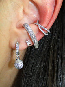 Four Leaf Platinum plated Piercing (1 Unit) - Sweetas Trends