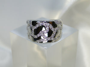 Kirsty Platinum plated Ring - Sweetas Trends