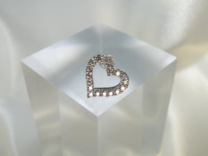 Big Heart Silver Piercing ( 1 Unit) - Sweetas Trends