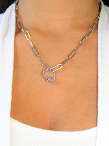 Joanna Silver plated Necklace