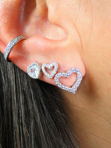 Camila Platinum plated Ear Cuff (1 Unit) - Sweetas Trends