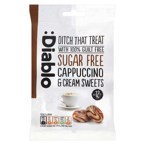 SUGAR FREE CAPPUCCINO AND CREAM SWEETS - Pack of 5