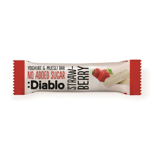 YOGHURT & MUSELI BAR - STRAWBERRY - Pack of 5