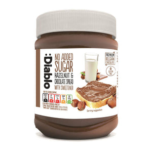 NO ADDED SUGAR HAZELNUT CHOCOLATE SPREAD