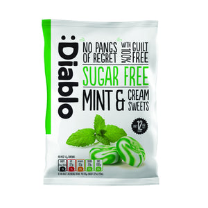 SUGAR FREE MINT AND CREAM SWEETS - Pack of 5