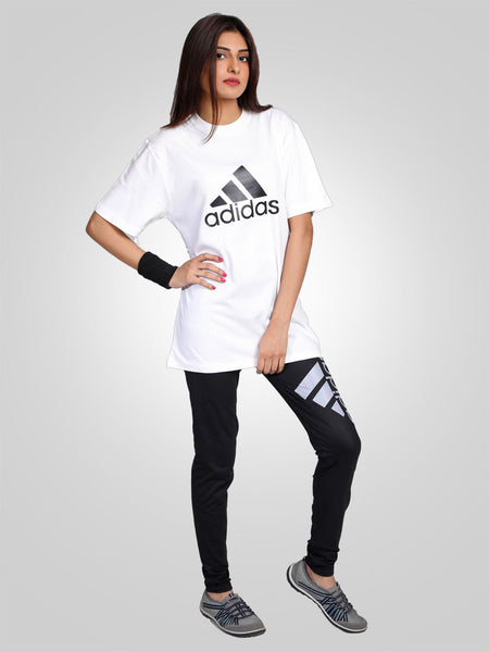 6022a4a53440 Gym Trouser   Tee Suit (Adidas) as low as Rs 1250
