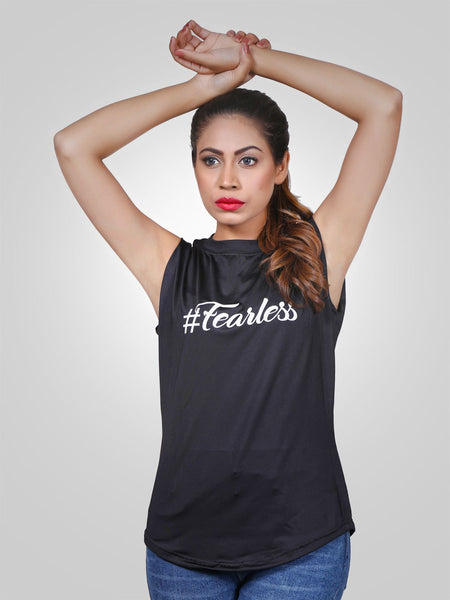 Fearless Tank Top by jimmy rochas