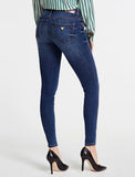 Mid Rise Skinny  Patched Jeans by Guess