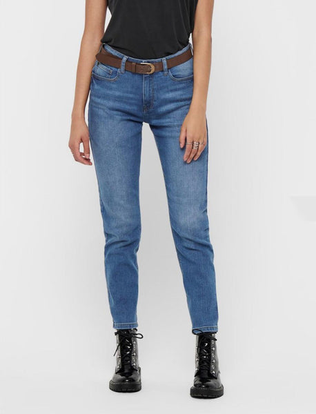 Tyson Girlfriend Straight Fit Jeans by Jacqueline De Yong