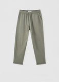 Slub knit trouser with elastic waist by Pull & Bear