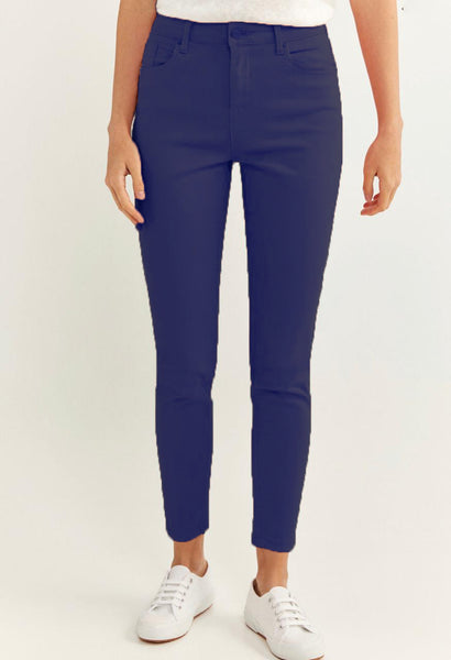 Denim Slim Cropped Trouser by Springfield