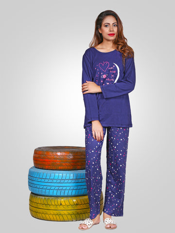 Opium Cotton Night Wear Suit By Jimmy Rochas