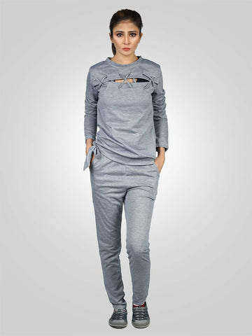 Long Sleeve Two Piece Gym Suit By Jimmy Rochas