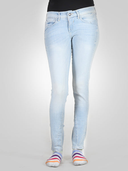 Cropped Slim Jeans By Original Lemmi