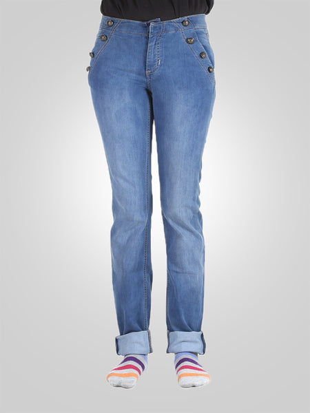 Straight Leg Jeans By Gap