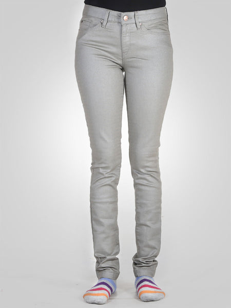Skinny Cotton Pant By Esprit