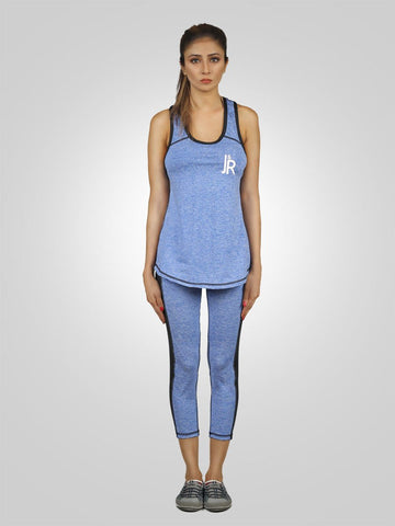 Fearless Tank Top Workout Trouser Gym Suit By Jimmy Rochas