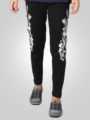 Floral Gym Sweat Trouser By Jimmy Rochas