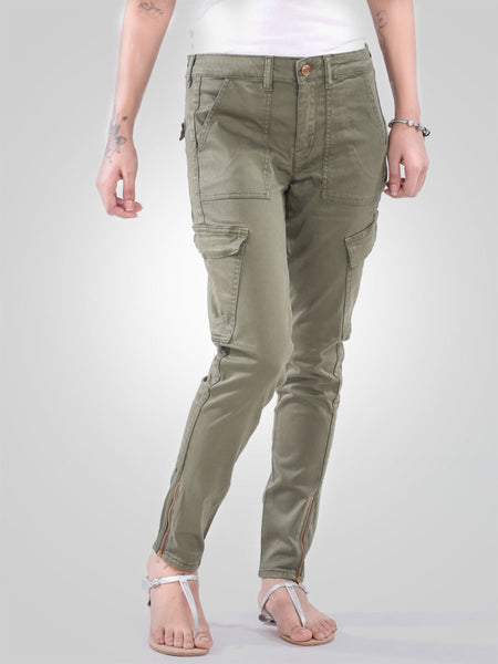 Skinny Fit Cargo Trouser Pant By Guess