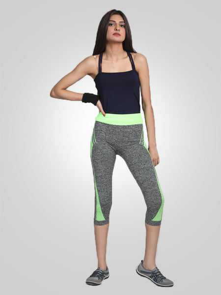 High Waist Stretched Yoga Pants By Jimmy Rochas