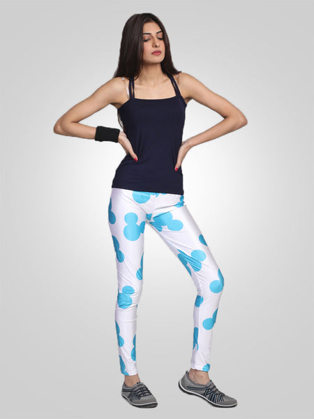 Mickey Fitness Yoga Pants By Jimmy Rochas