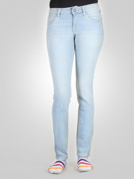 Scratch Skinny Jeans By Original Lemmi