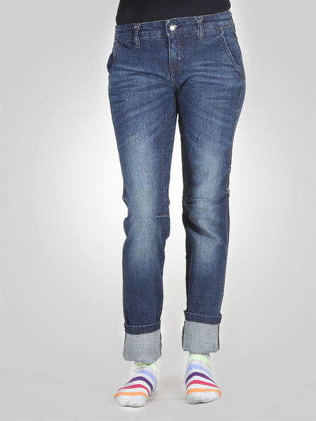 Straight Leg Jeans By Original Lemmi