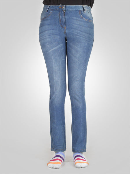 Straight Leg Jeans By Original Marines