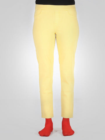 Skinny Sexy Yellow Jeggings By Sergent Major