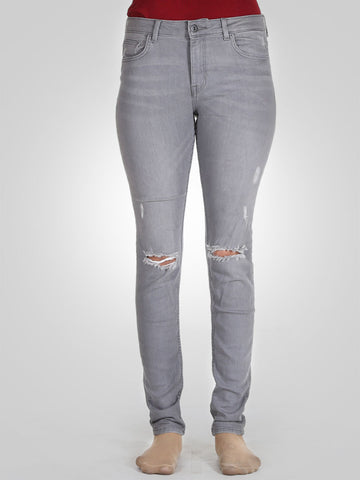 Knee Ripped Skinny Jeans By Springfield