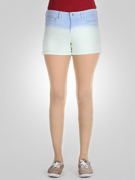 Two Tone Denim Shorts By Springfield