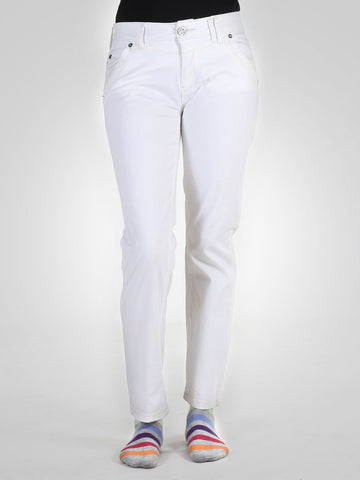 Denim Jona Slim Fit White Jeans By Tom Tailor