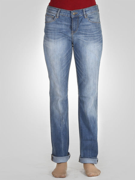 Straight Leg Jeans By Zara