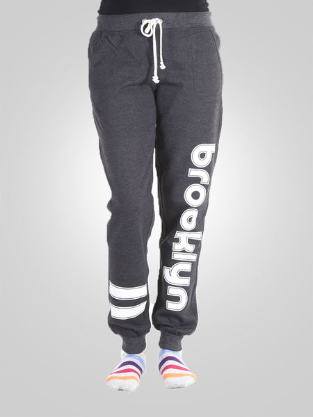 Unisex Gym Sweat Trousers Dark Grey By No Comment
