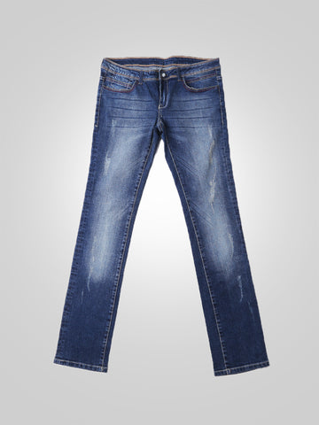 Women Scratch Boyfriend Jeans By Original Lemmi
