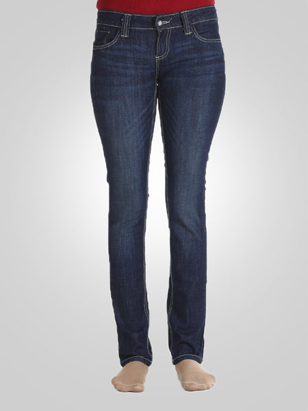 Women Straight Leg Jeans By Original Lemmi