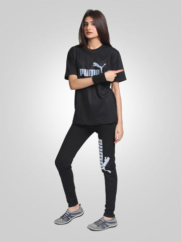 Gym Trouser & Tee Suit By Puma