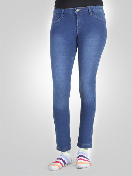 Skinny Cropped Jegging By Sid