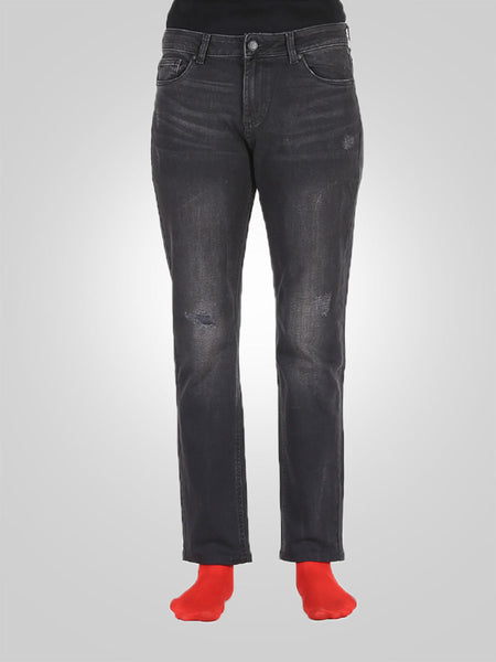 Women Scratch Straight Leg Jeans By S'Oliver