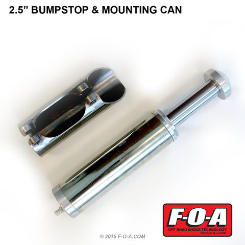 F-O-A | 2.5 Inch ID Bumpstop and Mounting Can Kit