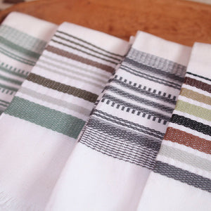 Slate Antigua Stripe Towel