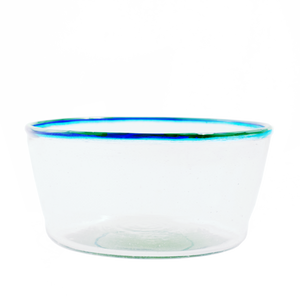 Blue Multi Rim Salad Bowl