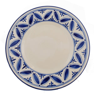New blue Fez dinner plate