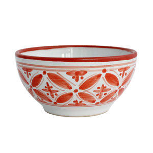 Orange Fez Cereal Bowl